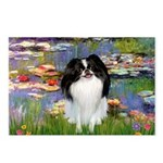 Lilies (#2)/Japanese Chin Postcards (Package of 8)