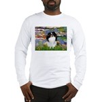 Lilies (#2)/Japanese Chin Long Sleeve T-Shirt