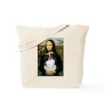 Mona Lisa/Japanese Chin Tote Bag
