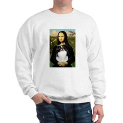 Mona Lisa/Japanese Chin Sweatshirt