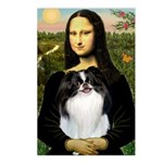 Mona Lisa/Japanese Chin Postcards (Package of 8)