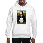 Mona Lisa/Japanese Chin Hooded Sweatshirt