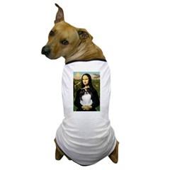 Mona Lisa/Japanese Chin Dog T-Shirt