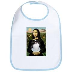 Mona Lisa/Japanese Chin Bib