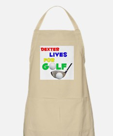 Dexter Lives for Golf - BBQ Apron