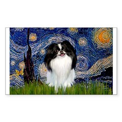 Starry/Japanese Chin Decal