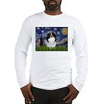 Starry/Japanese Chin Long Sleeve T-Shirt