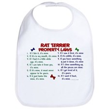 Rat Terrier Property Laws 2 Bib