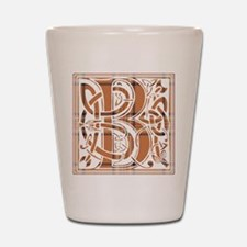 Monogram-Burnett of Leys hunting Shot Glass