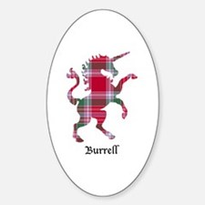 Unicorn - Burrell Sticker (Oval)