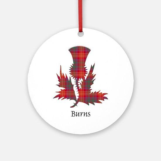 Thistle - Burns Ornament (Round)