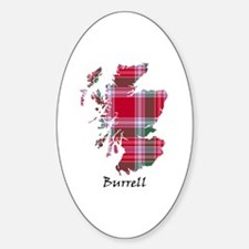 Map - Burrell Sticker (Oval)