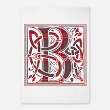 Monogram - Burns 5'x7'Area Rug