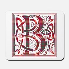 Monogram - Burns Mousepad