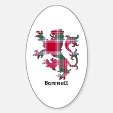 Lion - Burrell Sticker (Oval)