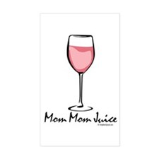 Mom Mom Juice Rectangle Decal