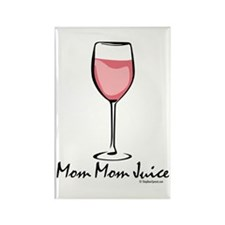 Mom Mom Juice Rectangle Magnet