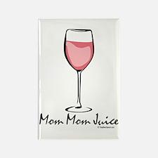 Mom Mom Juice Rectangle Magnet