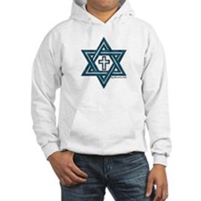 Star Of David & Cross Hoodie