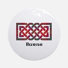 Knot - Burns Ornament (Round)