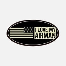U.S. Air Force: I Love My Airman (Black Flag Patch