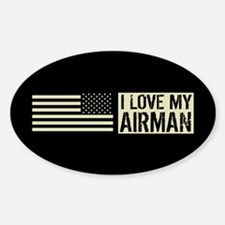 U.S. Air Force: I Love My Airman (B Decal