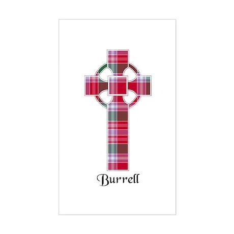 Cross - Burrell Sticker (Rectangle)