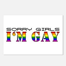 I'm Gay Postcards (Package of 8)