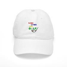 Eliseo Lives for Golf - Baseball Cap