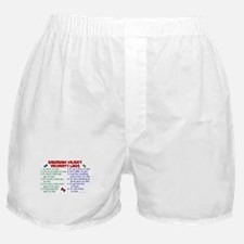 Siberian Husky Property Laws 2 Boxer Shorts