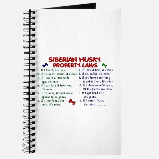 Siberian Husky Property Laws 2 Journal
