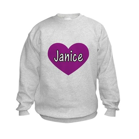 Janice Kids Sweatshirt