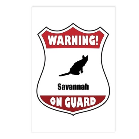 Savannah On Guard Postcards (Package of 8)