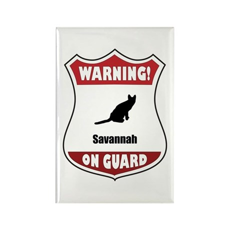 Savannah On Guard Rectangle Magnet (10 pack)