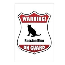 Blue On Guard Postcards (Package of 8)