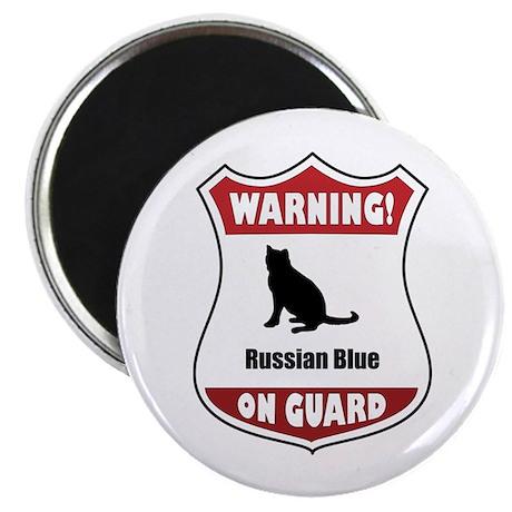 Blue On Guard Magnet