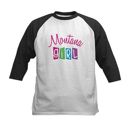 MONTANA GIRL! Kids Baseball Jersey