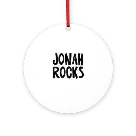 Jonah Rocks Ornament (Round)