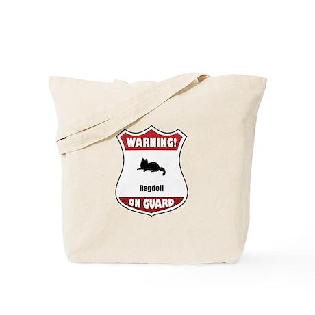 Ragdoll On Guard Tote Bag