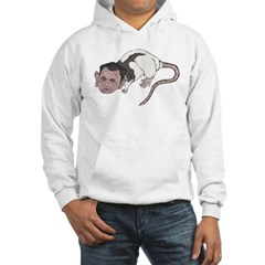 Republican Rat Bastard Hooded Sweatshirt