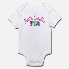 NORTH CAROLINA GIRL! Infant Bodysuit