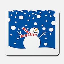 Holiday Snowman Mousepad