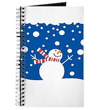 Holiday Snowman Journal