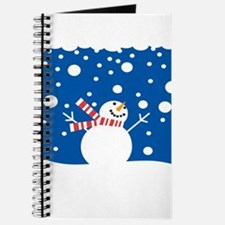 Holiday Snowman Journal