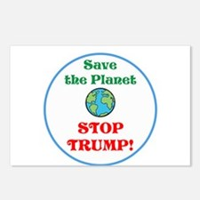 Save the planet...stop Trump Postcards (Package of