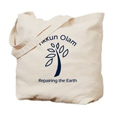 "Tikkun Olam 2-sided ""Green"" Grocery/Tote Bag"