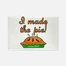 I Made the Pie Rectangle Magnet (10 pack)