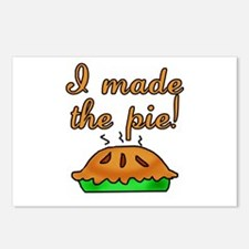 I Made the Pie Postcards (Package of 8)