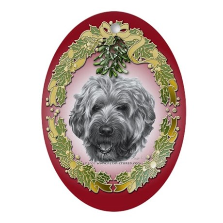 Soft-Coated Wheaten Terrier Oval Ornament