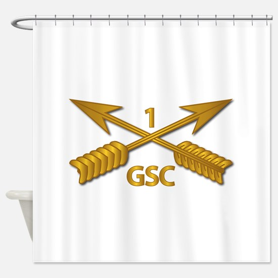 GSC - 1st SFG Branch wo Txt Shower Curtain